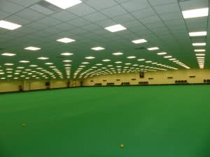 Inside Thanet Indoor Bowls Club